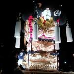 26日27日の祭り。眉山太鼓台。