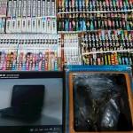 高松市で出張買取 コミック全巻セット  ゲームソフト DVD フィギュアなど