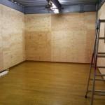 新 倉庫完成。