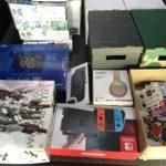 香川県でプラモデル ゲーム ヘッドフォンを出張買取 PS4 ニンテンドースイッチなど