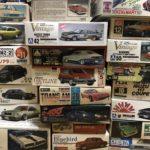 旧車のプラモデルを買取 アオシマ アリイ フジミなどの自動車模型