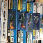 香川県で飛行機・軍用機・ミリタリーのプラモデルや食玩を買取